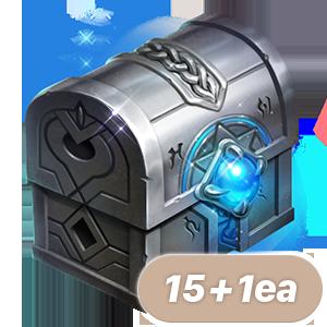 축복받은 오림의 장신구 마법 주문서 상자(15+1)