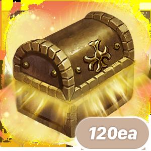 아덴의 유물 상자 120개 묶음