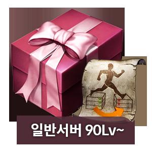 캐릭터 선물하기 (90Lv 이상 일반)