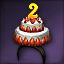 2주년 케이크
