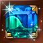 태극 사성 청녹석